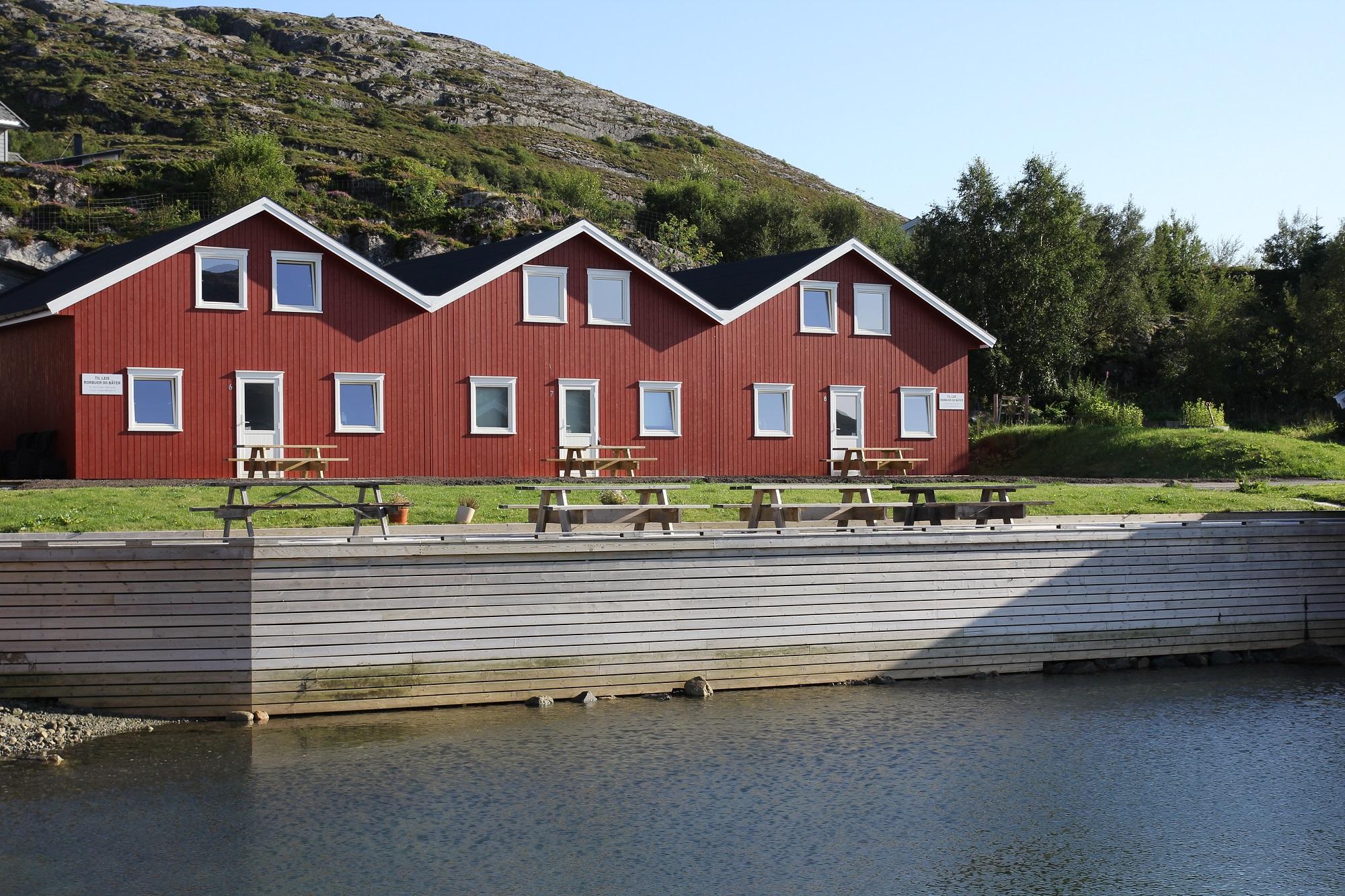 Die Ferienhäuser auf der Insel Linesøya