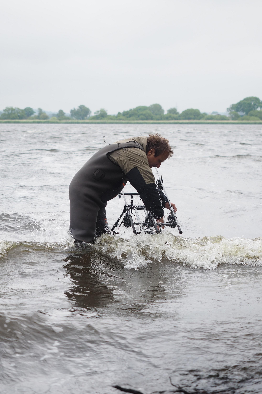 Wenn der Wind auf das befischte Ufer weht, sind Fänge beim Karpfenangeln schon fast garantiert. Jetzt sind mehrere Fische in kurzer Zeit möglich