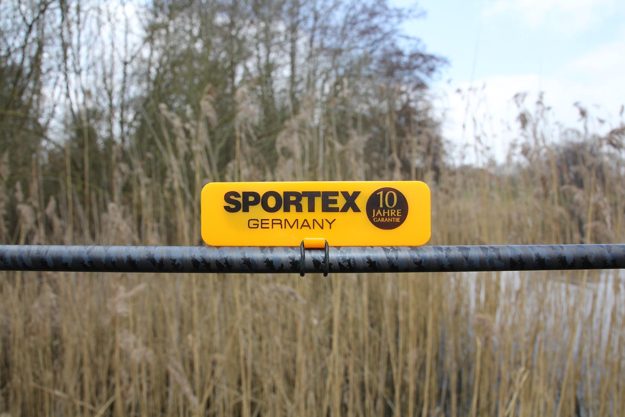 Wie von Sportex-Ruten gewohnt, erhaltet Ihr eine zehn Jahre Garantie auf den Rutenblank