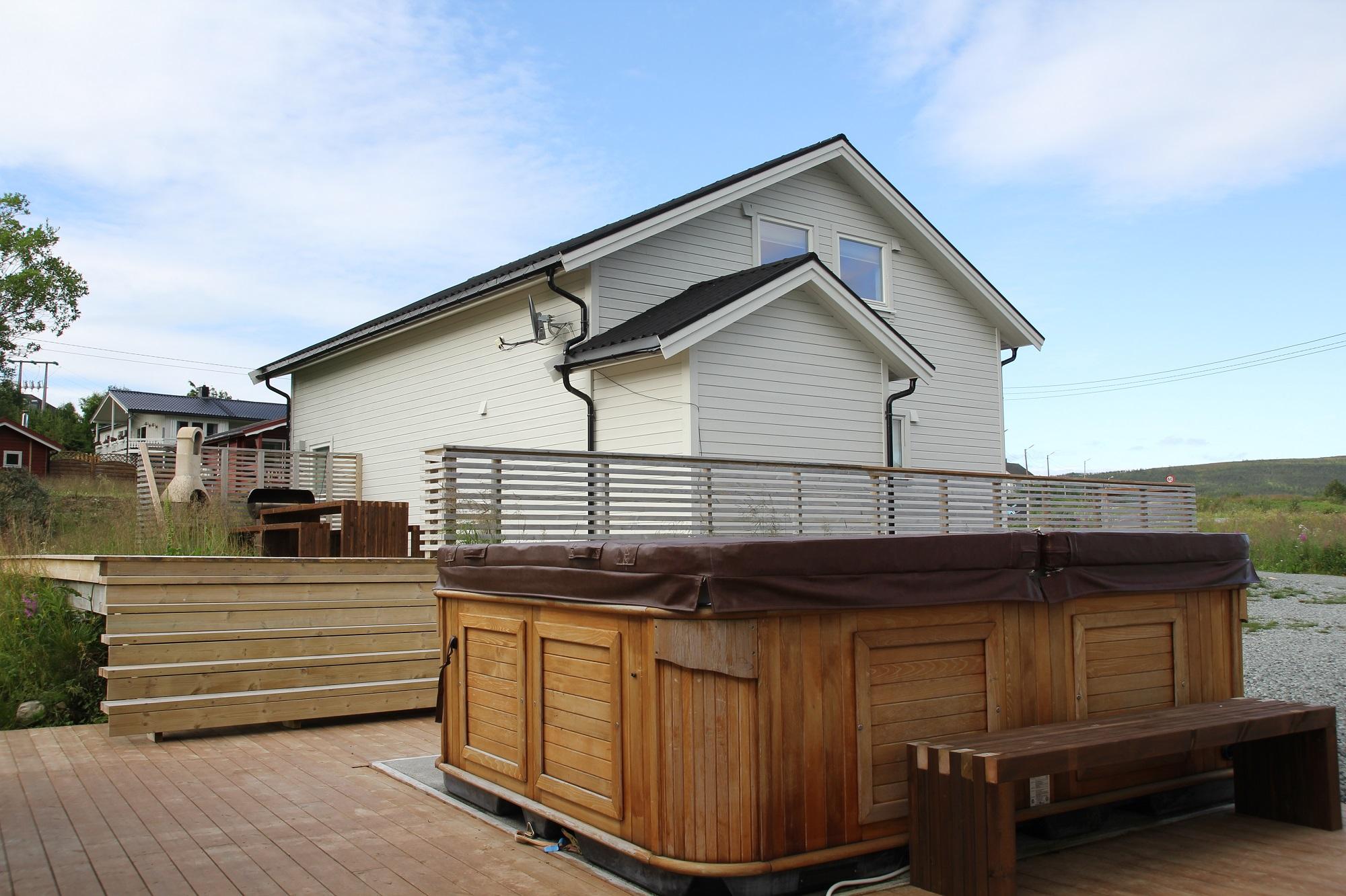 Die Ferienhäuser mit Sauna und Whirlpool