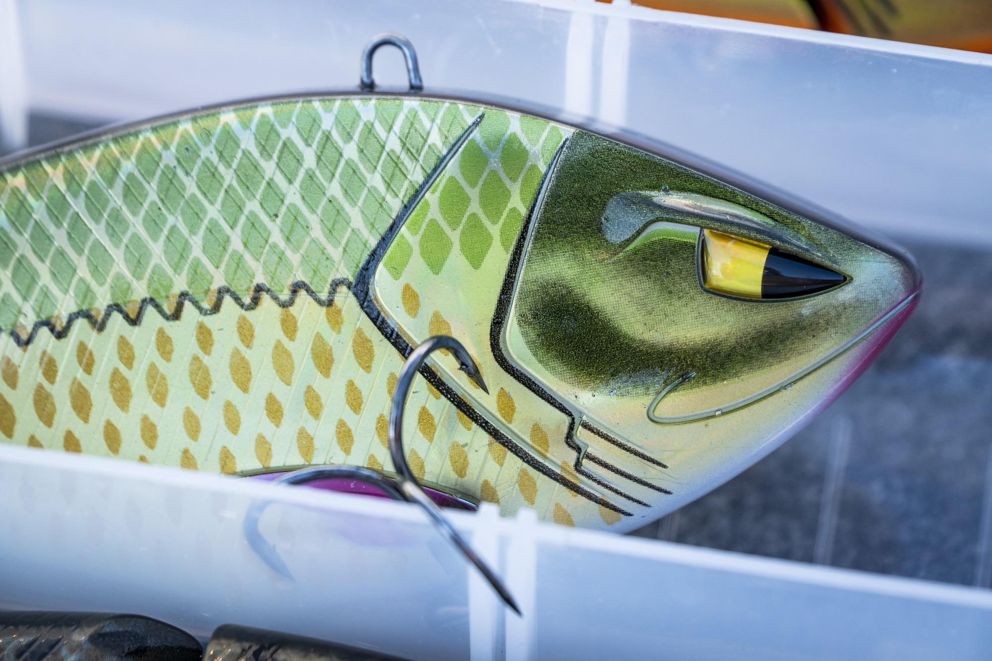 Die Konstruktion vom Crankbait ist extrem stabil, sodass auch große Raubfische sicher gelandet werden können