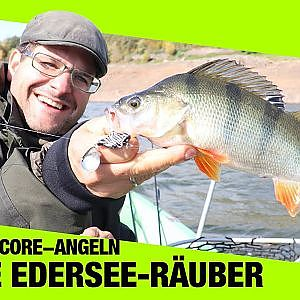 Angeln am Edersee I Edersee Barsch | Anglerboard TV - YouTube